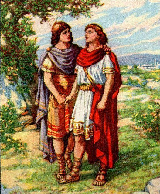 jonathan verslaat de filistijnen